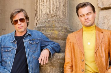 Leonardo DiCaprio ve Brad Pitt Once Upon A Time in Hollywood Filminde
