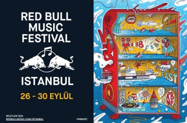 Red Bull Music Festival 26-30 Eylül Tarihlerinde İstanbul'da