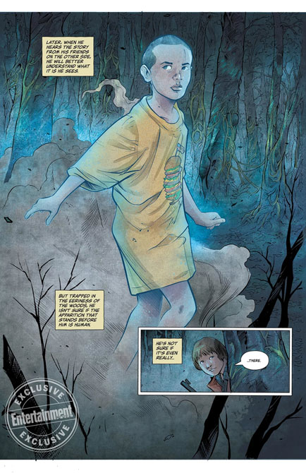Stranger Things Comic Book Dark House Mini Series 3