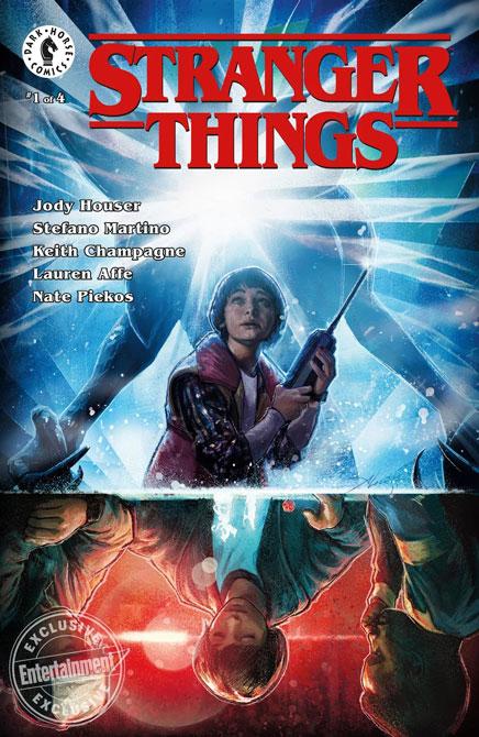 Stranger Things Comic Book Dark House Mini Series 4