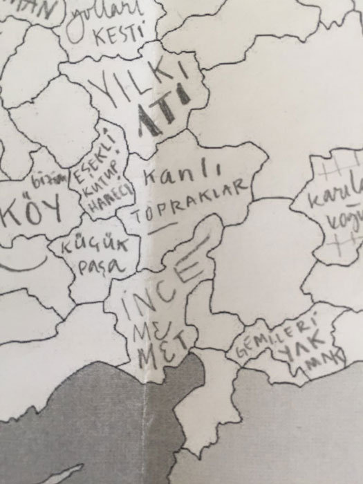 Türkiye'nin Roman Haritası Twitter Aysenur
