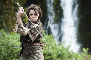 Arya Stark Game of Thrones Dizisine Veda Etti!