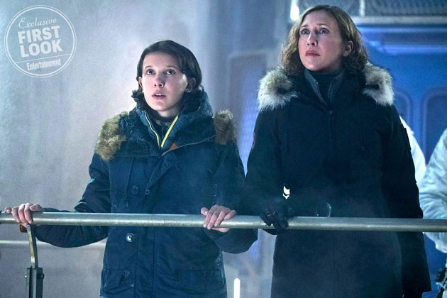 Godzilla: King of the Monsters Millie Bobby Brown, Vera Farmiga