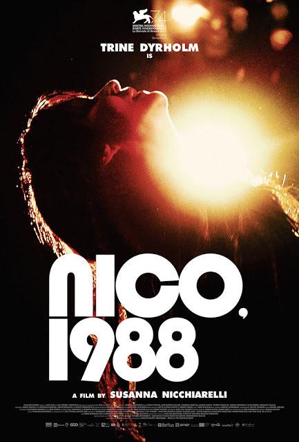 "Nico, 1988 Movie Poster Christa ""Nico"" Päffgen Susanna Nicchiarelli"