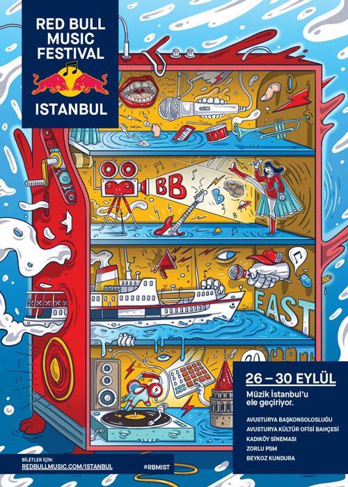 Red Bull Music Festival İstanbul Programı Açıklandı - 26-30 Eylül'de