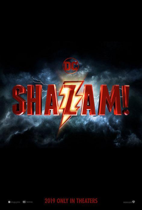 Zachary Levi Shazam! 2019 Movie Poster