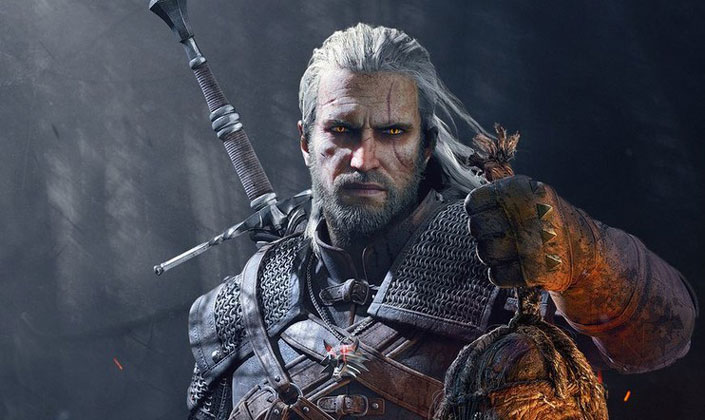 First Look Henry Cavill's New Look Geralt for The Witcher