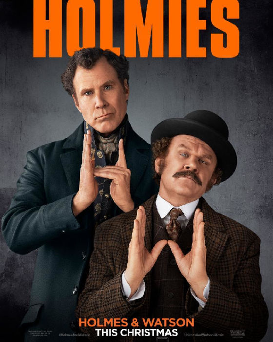 Watch Holmes and Watson Trailer: Starring Will Ferrell and John C. Reilly