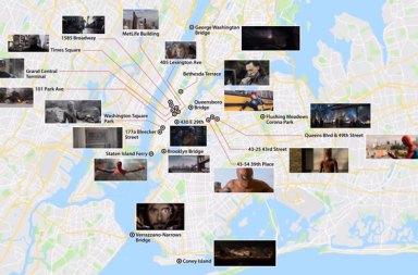 Marvel Sinematik Evrenini Google Maps ile Geziyoruz