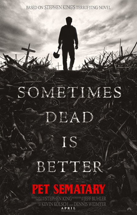 Watch First Trailer for Stephen King's Pet Sematary Poster Remake Movie