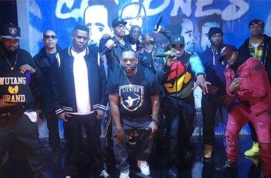 Jimmy Kimmel'a Konuk Olan Wu-Tang Clan C.R.E.A.M. Performansı