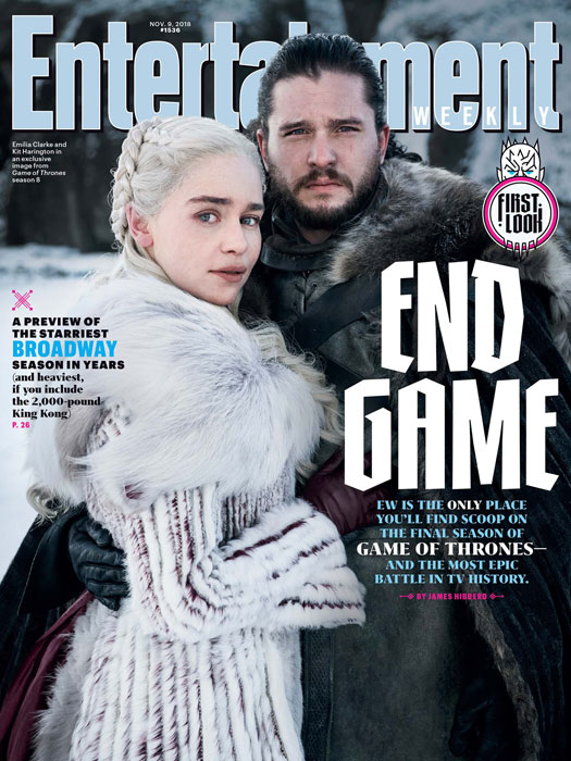 Game of Thrones EW's Cover First Photo of Season 8