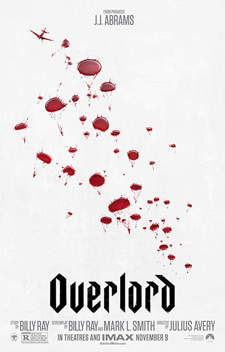 J.J. Abrams Movie Thriller Overlord Poster