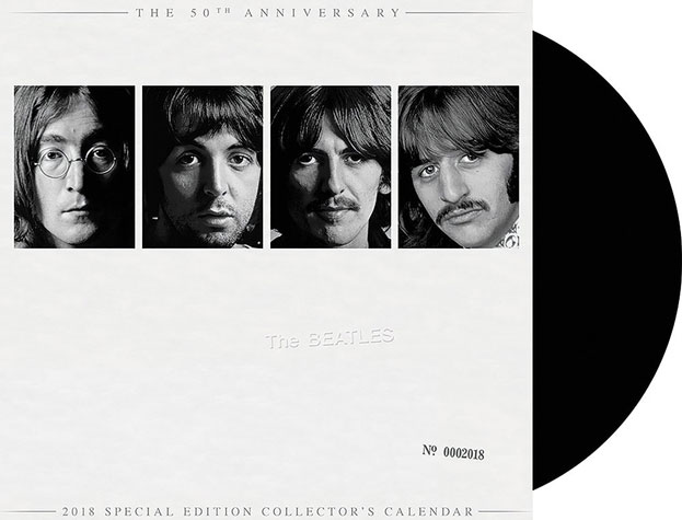 The Beatles Back In The U.S.S.R Lyric Video of The White Album 50th Anniversary