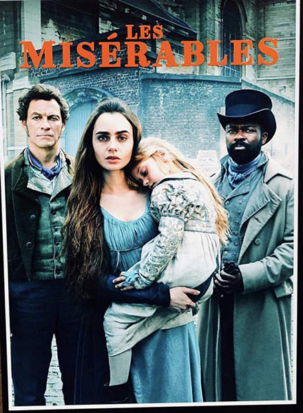 les miserables mini tv-series lily collins victor hugo bbc