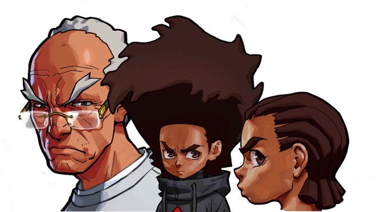 The Boondocks animasyon serisi 2 yeni sezonuyla geri dönüyor!