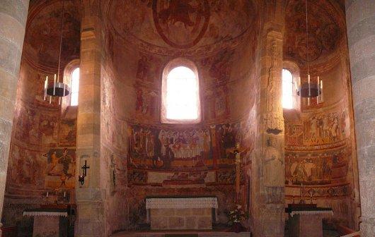 Abadia de San Juan Mustair 4