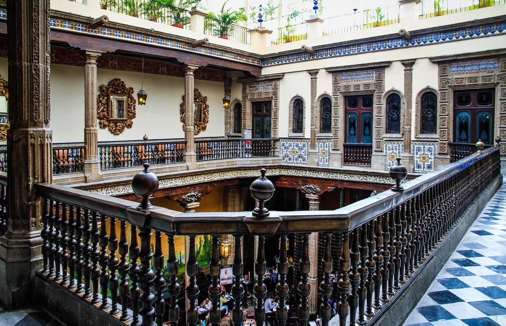 La casa de los azulejos en m xico d f ser turista for Casa de los azulejos en mexico