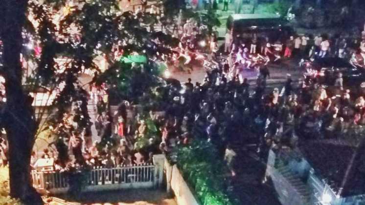 LBH Jakarta dikepung