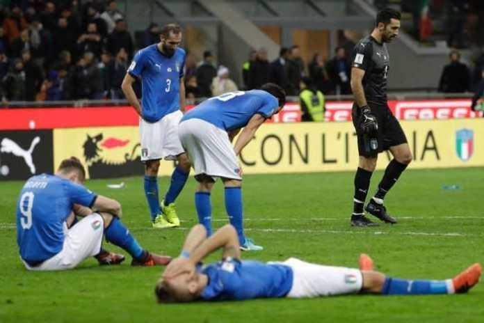 Italia gagal ke Piala Dunia