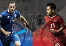 Timnas Indonesia vs Islandia