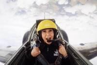 Liburan di Paris, Berikut 8 Potret Maia Estianty yang Berani Naik Jet Tempur!