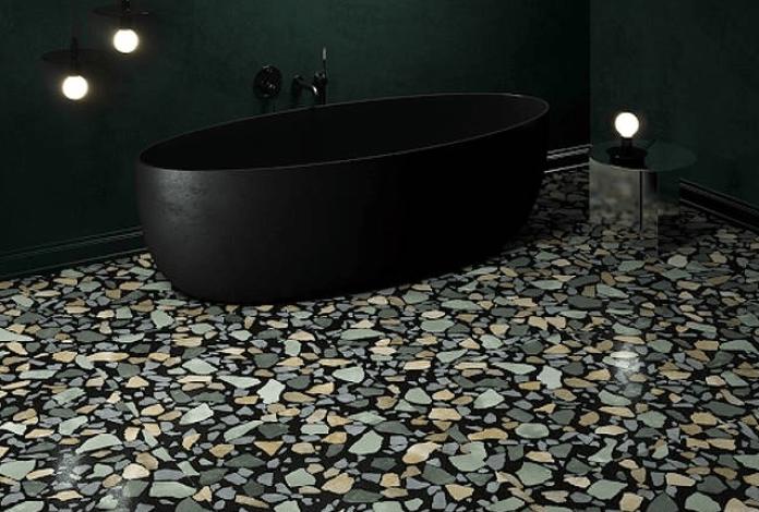 20 Model Keramik Kamar Mandi Bermotif Unik dan Estetik
