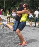 Hug my daughter