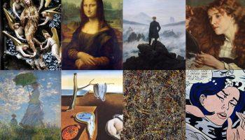 aliran seni rupa berdasarkan periodisasi seni dunia