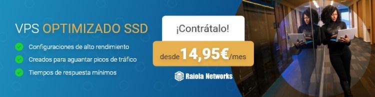 Servidor VPS SSD Optimizados