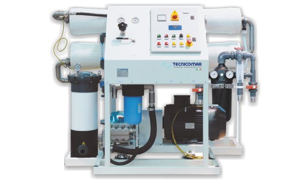 image of tecnicomar watermaker special green series