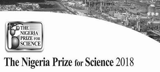 NLNG prize for science 2018