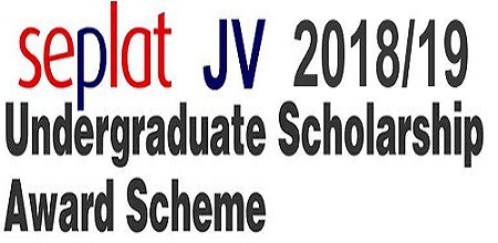 SEPLAT scholarship for undergraduate