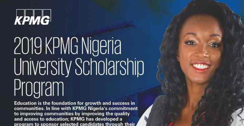 KPMG Nigeria University Scholarship Program 2019