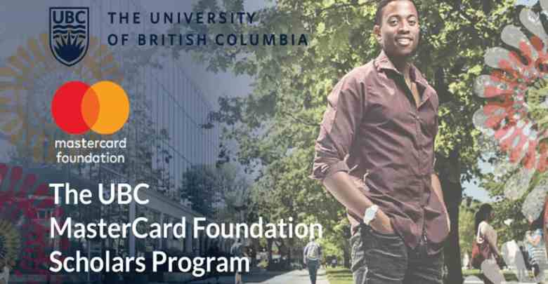 UBC MasterCard Foundational Scholars