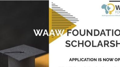 Photo of WAAW Scholarship 2020/2021 For STEM Female Students