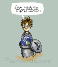 monde poubelle