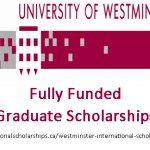 University of Westminster International Full Time Graduate Scholarships