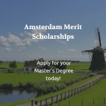 University of Amsterdam – Merit Scholarships