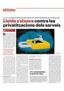 Lleida s'aixeca contra les privatitzacions dels serveis_pag1