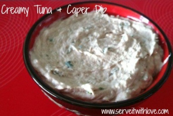 Tuna Dip Recipe