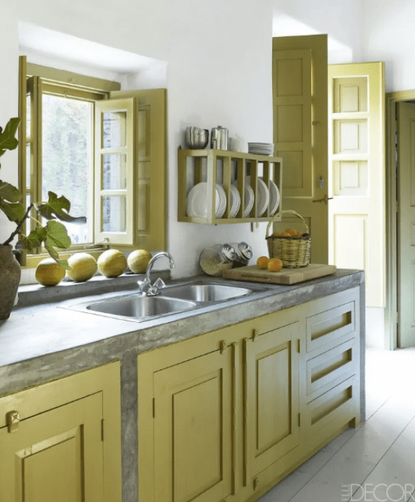 Kitchen Color Ideas for Small Kitchens by home decor