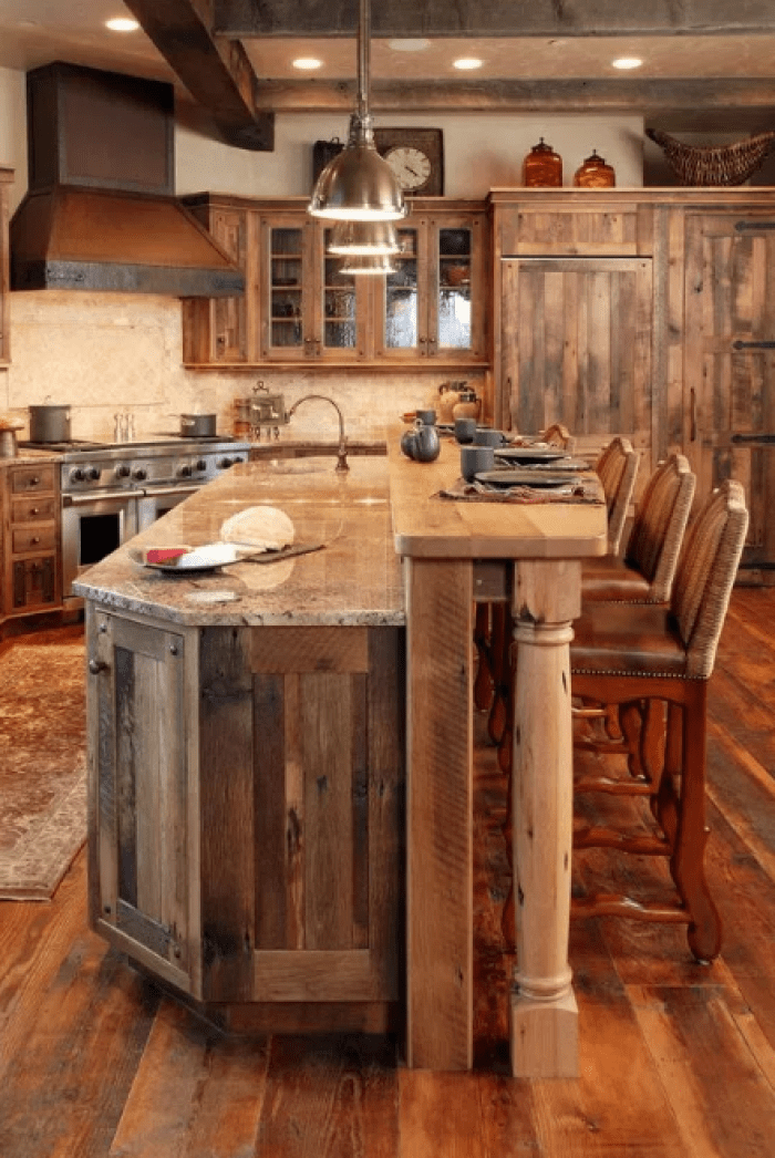 Cabinet For The Rustic Kitchen Of Your Dreams