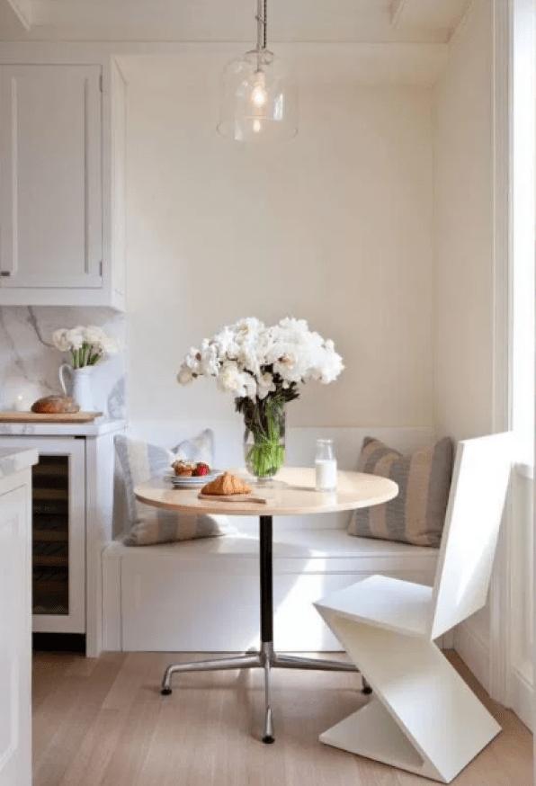 Small Breakfast Nook Design by pinterest