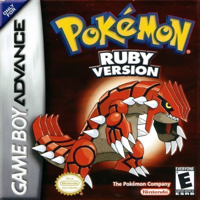 Pokemon   Ruby Version  V1 1  ROM   Gameboy Advance  GBA    Emulator     Pokemon   Ruby Version  V1 1