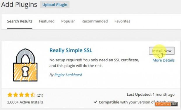 reall simple ssl plugin