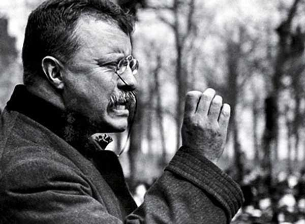 Theodore Roosevelt profile speaking at www.servetolead.org