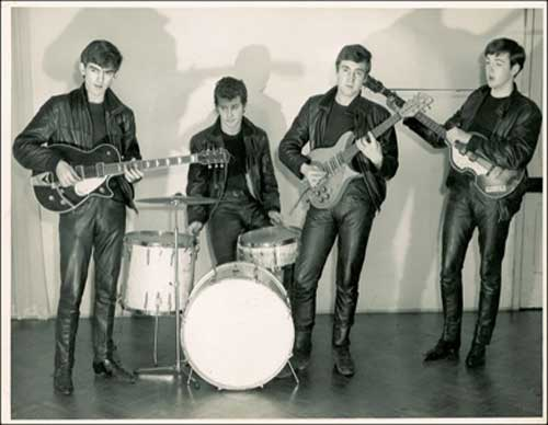 Beatles early years Lennon McCartney Harrison Pete Best at www.servetolead.org