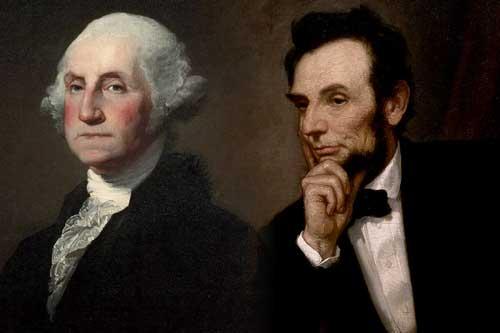 Washington Lincoln color at www.servetolead.org
