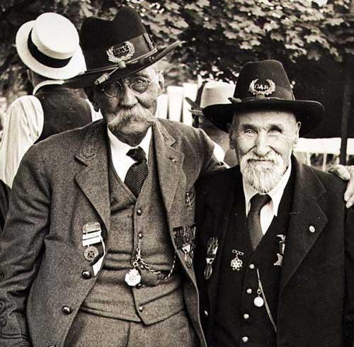 Union Confederate veterans 75 anniversary gettysburg at www.servetolead.org